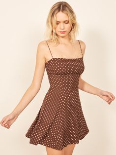 Cute Outfits With Polca Dots That Will Complete Your Wardrobe Elegant Dresses, Sexy Dresses, Cute Dresses, Casual Dresses, Cute Outfits, Dresses For Work, Summer Dresses, Formal Dresses, Casual Outfits