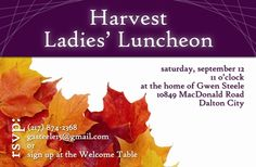 sample layout - but probably better for a postcard than a notecard. Welcome Table, Ladies Luncheon, Google Images, Note Cards, Communication, Invitation, Layout, Ideas, Ladies Lunch