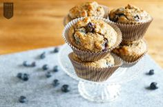 #Blueberry #Muffin #Paleo  Die Belohnung schlechthin :) Paleo, Low Carb, Breakfast, Sweet, Food, Medical, Dreams, Desserts, Inspiration