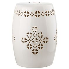Mercury Row Quatrefoil Garden Stool