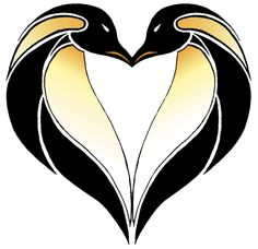 A mod on a recent penguin tattoo I made. For the Love of Penguins Stained Glass Tattoo, Stained Glass Birds, Stained Glass Suncatchers, Stained Glass Projects, Stained Glass Patterns, Penguin World, Penguin Art, Penguin Love, Love Heart Tattoo