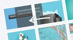 Mouse Direction Aware Hover Effect with CSS3 and jQuery