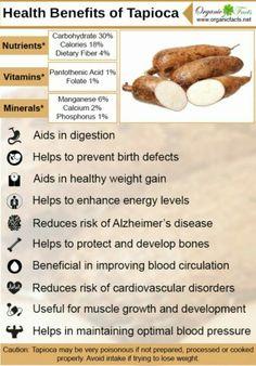 Tapioca benefits