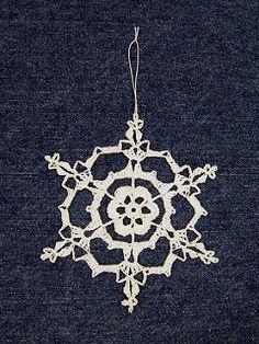 Irish Hearts Snowflake by Deborah Atkinson