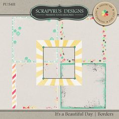 It's a Beautiful Day | Edge Borders :: Masks and Overlays :: Elements :: Memory Scraps