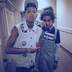 Princeton/Jacob Perez (Mindless Behavior) 2015 and that one guy from Empire