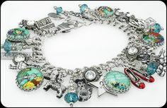 Wizard of Oz Charm Bracelet, Wizard of Oz Jewelry, Wizard Bracelet - Blackberry Designs Jewelry