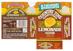 Vintage General Foods Country Time Lemonade Mix Box by gregg_koenig, via Flickr
