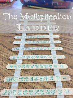 Great tool for kids learning their multiplication tables! Easy to make and helps them at home or in the classroom!