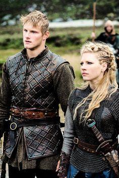 Bjorn & Lagertha   Vikings season 2