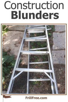 Construction Blunders Bird Strike, Good Employee, Build Something, Water Tank, Simple Living, Garden Hose, No Frills, Construction, Website