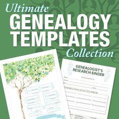 Family Tree Magazine - Free Forms