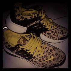 Leopard skin presto's
