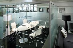 Isku Air/ acoustic glass walls