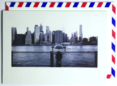 Take a peek.  Polaroid shot in New York City, USA. Each notecard is 3.5 x 4.9, printed on crisp, white 14 pt. stock and tucked into a nostalgic airmail envelope.