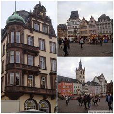 Hauptmarkt Trier - a cidade é uma ótima opção perto de Frankfurt para passar um fim de semana!