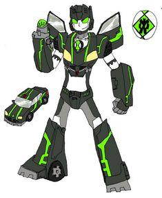 CyberBot - Ben 10.
