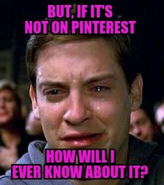 Lost without Pinterest