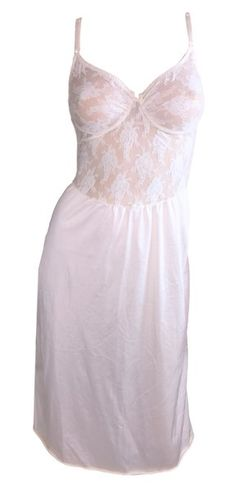 f913915c4ea 1990 s Christian Dior Sheer Ivory Mesh Lace Underwire Slip Dress 1990s