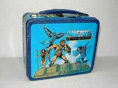 1983 Masters of The Universe Metal Lunchbox by Aladdin | eBay