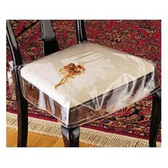 Chair Protector, heavy duty clear plastic chair seat cover ...