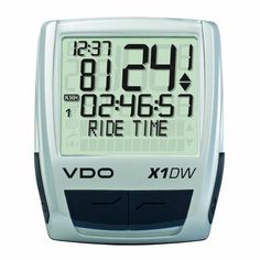 Looking good VDO X1DW Wireless Bicycle Computer
