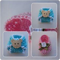 CrochetArt - Crochê, Trico e Bordados: Lembrancinhas de Maternidade