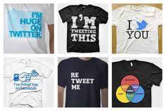 Social Networking t-shirts
