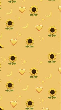 Pin on sunflower wallpaper Iphone Wallpaper Yellow, Funny Phone Wallpaper, Cartoon Wallpaper Iphone, Disney Phone Wallpaper, Iphone Background Wallpaper, Kawaii Wallpaper, Pretty Wallpapers, Galaxy Wallpaper, Cute Cartoon Wallpapers