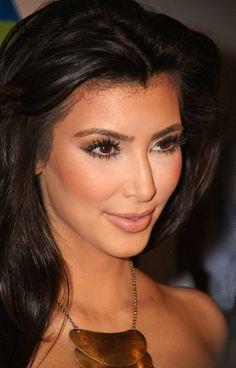 Kim Kardashian-make up