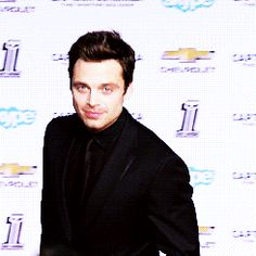 Because he's a crazy, ridiculously good looking human whose stare alone melts ice. | Attention: Sebastian Stan Is Who Your Heart Should Lust For