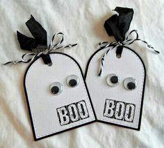 Halloween Tags - Boo Eyes