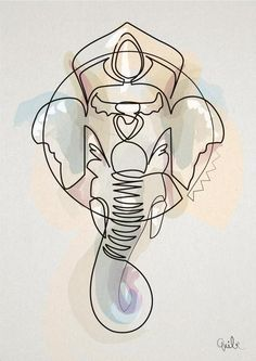 One Line Ganesh dispo sur Ohh Deer NOW!