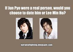 Flower Boy Face-Off: Boys Over Flowers ---Personally, I would say Lee Min Ho just because I like him much better in City Hunter. Korean Drama Funny, Korean Drama Quotes, Boys Over Flowers, Flower Boys, Lee Min Ho Dramas, J Pop Bands, Lee Minh Ho, Asian Love, Asian Guys