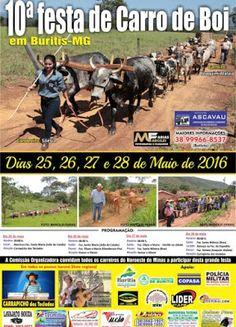 Festas de Carros de Boi: Festa de Carro de Boi de Buritis - MG