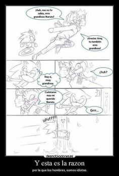 XD Sonic The Hedgehog, Sonamy Comic, Schmuck, Comic Strips, Jealousy, Men