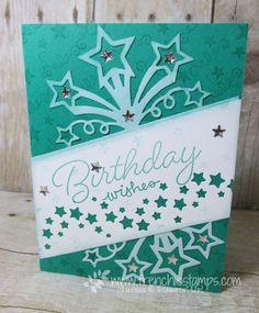 Birthday Blast, Star Blast Edgelits Stampin Up