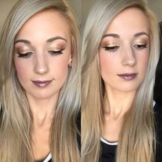 Sarah killed this fall look!!!!  -Splurge cream shadow: Elegant, Defiant & Tenacious -Lipstain: Sleek and Savvy -Lipstick: Well to do, over top  Click here to get this look https://www.youniqueproducts.com/Trista/products/landing  #youniquebytristalacerra