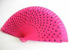 HandfächerhandfanAbanicoFächer in pink mit von pinkmagnolia2303