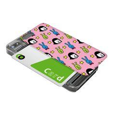 【【限定】【iPhone5s/5 ケース】IC-COVER 暇女シリーズ (ピンク)】iPhone 5s/5に対応したICカードケースです。 ケース…