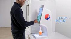Pepsi invente une incroyable machine à sodas capable de délivrer 1000 boissons différentes