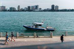 Edit -1-8 (42168242370) - Detroit - Wikipedia Macau, Detroit, Police, British, Boat, Dinghy, Boats, Law Enforcement, Ship