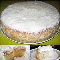 Agradecemos por compartilhar! INGREDIENTES: Para o bolo: – 5 ovos (claras e gemas separadas) – 1 xícara de farinha de trigo – 1 xícara de açúcar – 1 colher de sopa de pó royal – 1 pitada de sal Para a cobertura: – 1 lata de leite condensado – 1 caixa de creme de leite …