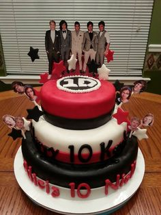 One Direction 1 Direction Cake Harry Styles Niall Horan