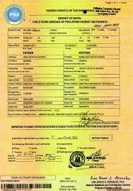 How To Get Original Copy Of Birth Certificate Philippines