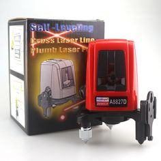 34.12$  Buy here - http://ai7nk.worlditems.win/all/product.php?id=32728316586 - ACUANGLE A8827D Portable Laser Level 3 Lines 3 points 360degree Self-leveling Cross Laser Levels Red Line Automatic Leveling