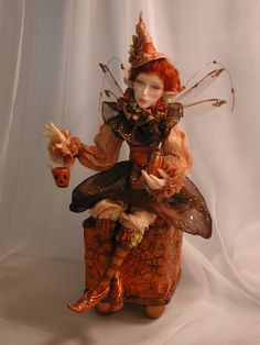 A faerie witch! Oh, she's quite the charmer... be ever so careful crossing her path. Another by bonniebj.
