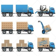 Shipment Icons Set by dashadima Folder include EPS10, Ai and JPG files. EPS10, Ai files can edit in Adobe Illustrator CS5, CS5.5, CS6 and CS. 100 Vector. Shipmen