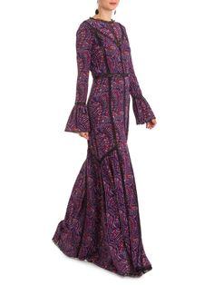 Vestido Cashemere Garden Vick - Talie NK - Roxo - Shop2gether