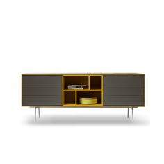 Contemporary sideboard in 195 cm length, custom made furniture from It at My Italian Living Ltd